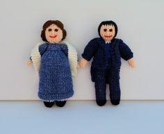 Jane Austen Doll - Knitting Pattern - PDF E-mail £3.60