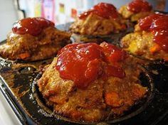 Turkey Meat Muffins