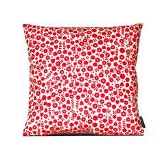 Cushion - WhiteRed - ST