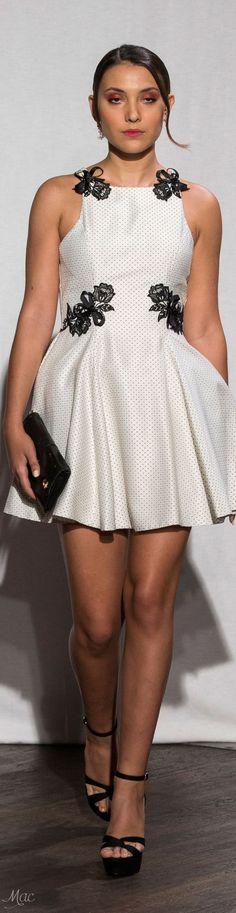 @roressclothes clothing ideas #women fashion white dress Spring 2017 Christophe Guillarme: