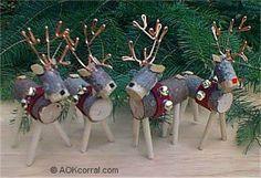 66 Rustic Christmas Crafts , reindeer from wood log. 66 Rustic Christmas Crafts , reindeer from wood log. Rustic Christmas Crafts, Christmas Wood, Outdoor Christmas Decorations, Homemade Christmas, Christmas Projects, Holiday Crafts, Christmas Holidays, Rustic Crafts, Reindeer Christmas
