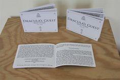 Dracula's Guest, a short story bij Bram Stoker in three cute booklets.
