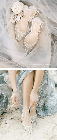Who doesn't love a sparkly wedding shoe for brides? Better than Jimmy Choo and Badgley Mishka according to our the Bella Belle Florence ivory wedding heel is a best seller, comfortable, has glittering white crystals and beads, and has a baller Sparkly Wedding Shoes, Wedding Heels, Best Wedding Shoes, Sparkly Heels, White Heels, Bridal Musings, Crystal Wedding, Ivory Wedding, Trendy Wedding