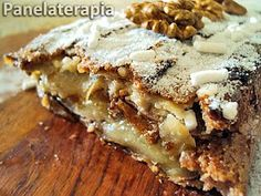PANELATERAPIA - Blog de Culinária, Gastronomia e Receitas: Bolo de Maçã
