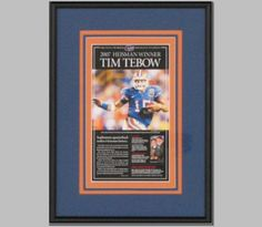This was done for Tim Tebow's mom when he won the Heisman