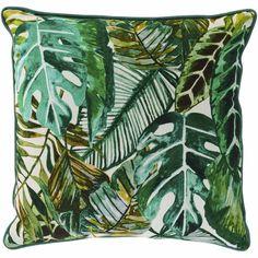 Wilko Urban Leaf Print Assorted Cushion 43x43cm Printed Cushions, Scatter Cushions, Outdoor Seat Cushions, Cushion Fabric, Dream Garden, Leaf Prints, Leaf Design, Plant Leaves, Urban