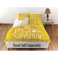 "Thumbprintz You are my Sunshine Standard Sham, 30"" x 22"""