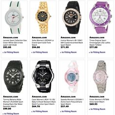 A fashionable Mountain Getaway needs a good sport watch. Using our search tool, you'll find watches to suit your taste, from rugged to elegant - like these we found on Amazon. Get in the game at www.battleshop.co today!
