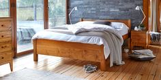 Would fit under eaves. Danish Bedroom, Warren Evans, Olive Bedroom, Master Bedroom, Bedroom Decor, Bedroom Ideas, Textures And Tones, Types Of Houses, Muted Colors