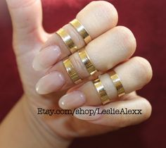 double band mid finger ring by lesliealexx on Etsy, $12.00#knucklering #midiring #migfingerring