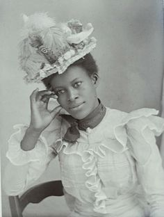 Young, Black and Victorian: Wonderful photographs of Victorian women of color | Dangerous Minds. #Victorian #portraits #women