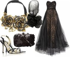 """ShopStyle: Lily Vega 100th Followers """"GLAMOROUS GOWNS PARTY"""" & PurpleGreenSea's Christmas Masquerade Ball! by Malu82"""