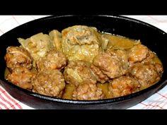 Albóndigas con alcachofas y 2 TRUCOS / Video Nº 61 - YouTube