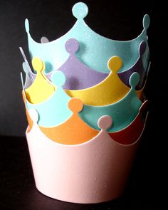 Crown Cupcake Wrappers