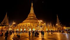 This is the biggest pagoda in Myanmar, explore Myanmar with insider travel expert  http://www.myanmartours.net/shwedagon-pagoda-guide-photos.html