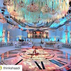 #loveit @thinkshaadi with @repostapp ・・・ The mother of all dance floors ✨ #thinkshaadi  @lemariage