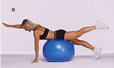 Strengthens your lower back; improves coordination.