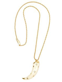 Aurelie Bidermann studded 'Caftan Moon' necklace