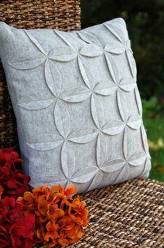 Huopatyyny, ompeluohje, Tuulia design