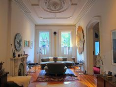 Livingroom layout. The Insider: Clinton Hill Classic in Modern Dress