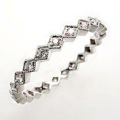 Beverley K Diamond Wedding Band Eternity Style Platinum
