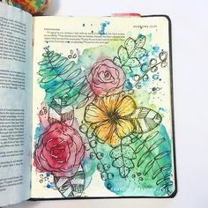 Bible Journaling by @kaylas_painted_faith