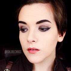 """""""Yeah...here's an old #lotd that's been chilling on my camera roll. It's very steampunk-ish. But since I haven't posted any makeup looks in the last few…"""""""