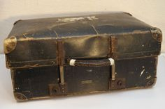 Vintage c 1920 s 'Revelation' Expandable Suitcase - Made in England
