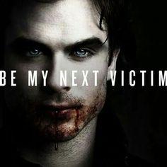 Ow yes please..bite me Mr. Damon Salvatore ♡ Vampire Diaries ♡ Ian Somerhalder