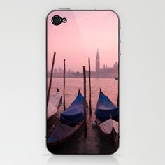Venetian sunset iPhone & iPod Skin by ian middleton photography - $15.00