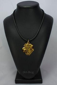 Tosa Inu millesimal fineness 999 dog necklace by ArtDogshopcenter