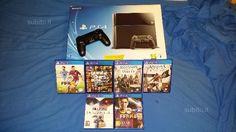 PS4 + 6 giochi + 1 pad - Console e Videogiochi In vendita a Napoli