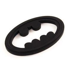 Bumkins Silicone Teether- Batman
