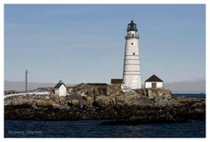 Boston Light, - Lighthouses Around the World Wallpaper