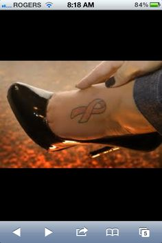 Breast cancer tattoo! I want to get this for my mom! <3