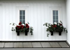 Astonishing Holiday Decorating Ideas For Window Boxes, Innovative Christmas yard decoration solutions are not just about being conventional but it's also about what is new. There are lots of easy decoratio. Christmas Window Boxes, Christmas Lights, Christmas Holidays, Christmas Crafts, Christmas Ideas, Holiday Ideas, Cottage Christmas, Christmas Napkins, Christmas Porch