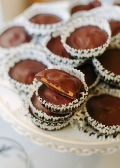 Recipe: Pumpkin Spiced Peanut Butter Cups — Candy Recipes from The Kitchn | The Kitchn