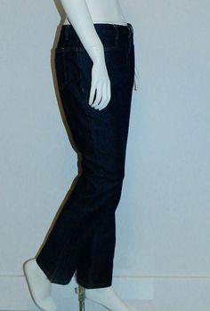 1990s vintage Daryl K-189 dark denim jeans / straight leg zip stretch – Retro Trend Vintage