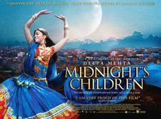 """ - Salman Rushdie Director Deepa Mehta's 2012 film "" Midnight's. Kid Movies, Movies To Watch, Midnight's Children, Children Movies, Understanding The Times, Salman Rushdie, 2012 Movie, Box Office Collection, Kids Poster"