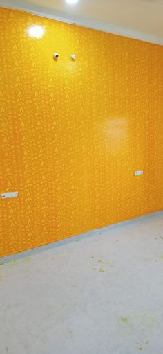 Room Paint Designs, Bedroom Wall Designs, Wall Texture Design, Royal Design, Yellow Walls, Textured Walls, Textures Patterns, House Design, Play