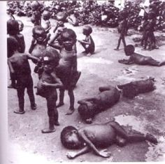 The end off the civil war in Nigeria 1970