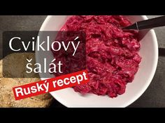 Recepty CVR - Cviklový šalát (červená repa) / Beetroot salad recipe - YouTube Beetroot, Salad Recipes, Beef, Youtube, Food, Meat, Essen, Meals, Youtubers