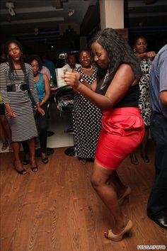 Ladies taking it to the dancefloor