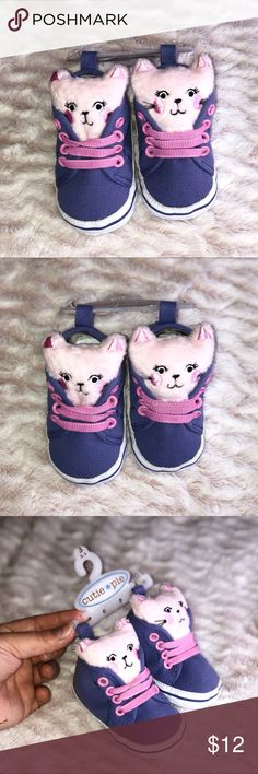CUTIE PIE ADORABLE BABY SHOES •BRAND NEW •100% Authentic •NO FLAWS   🚢 FAST SHIPPING🚢 🚫SMOKE & PET FREE🚫 🛍DISCOUNTS ON BUNDLES ARE ONLY FOR THE CLOTHING NOT SHOES🛍  🔹I ACCEPT OFFERS THROUGH OFFER BUTTON ONLY!  🔸I CAN'T ACCEPT AN OFFER IF YOU DON'T MAKE ONE 😊  ❌No trades❌ CUTIE PIE Shoes Sneakers