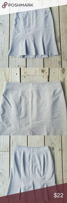 Ann Taylor skirt Virgin wool, lycra, lined, Petite 6, excellent condition Ann Taylor Skirts Pencil