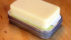 DIY Lotion Bars Keep You Moisturized (beeswax, shea butter, and coconut oil; can add fragrance if you like)
