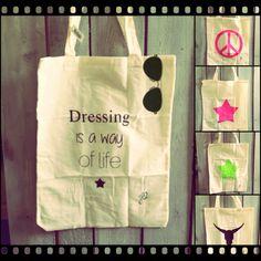 Tas nodig tijdens het shoppen??? Deze hippe canvas tassen makkelijk in je tas❤️ Love it