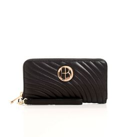 NO. 7 QUILTED LOGO CONTINENTAL WALLET | Large Wallets | Henri Bendel