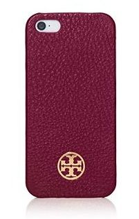 We need this Tory Burch phone case to match our marsala-painted nails.