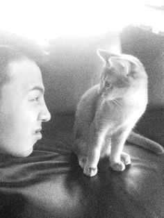 GD... and that cat. Again.  >^..^<